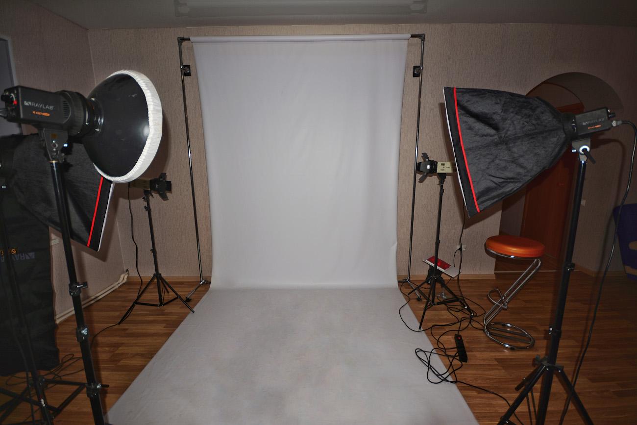 Организация фотостудии дома