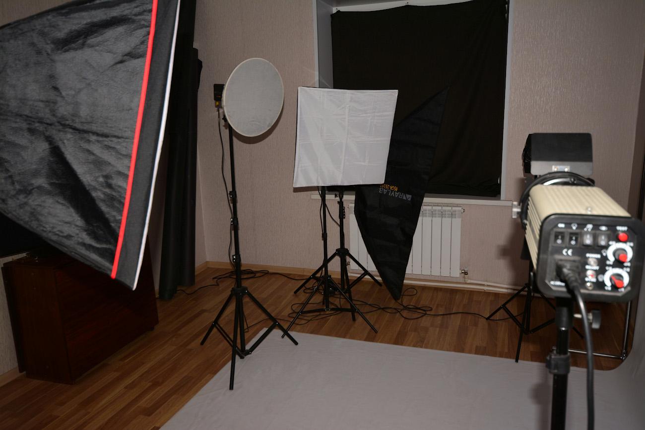 Фотооборудование для домашней фотостудии