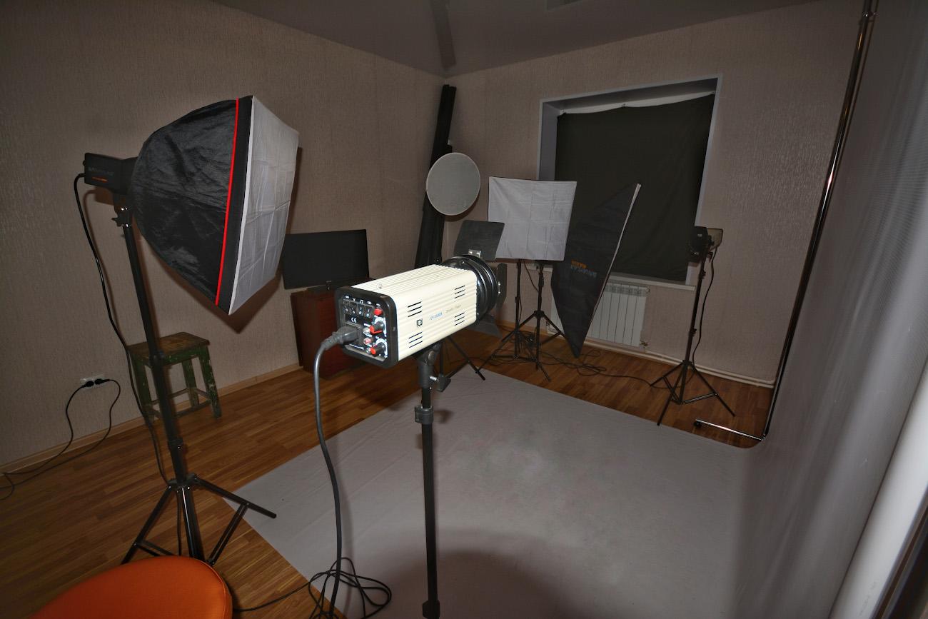 Свет для домашней студии