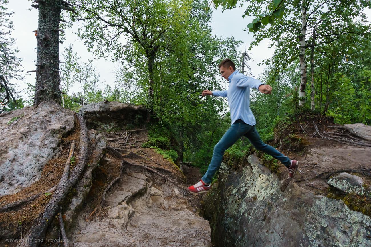 Фотография 2. Прыжки над узкими улочками Каменного города. Отзывы туристов об экскурсии летом на авто по Пермскому краю. 1/160, 8.0, 1600, 16.