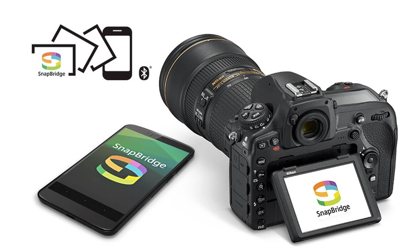 Управление Nikon D850 по Блютузу