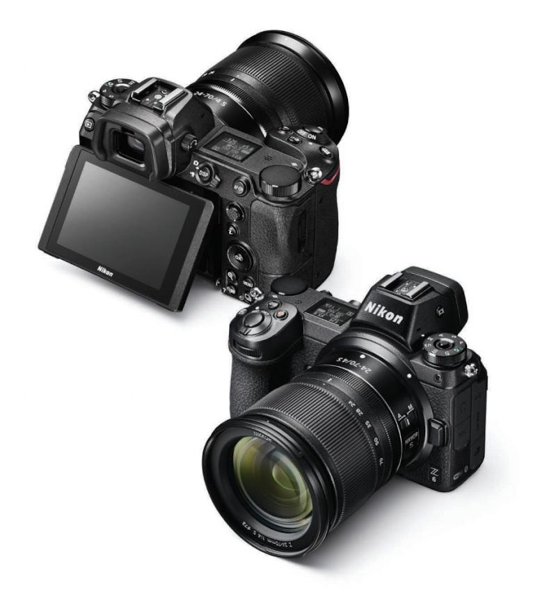 Фото 3. Внешний вид у беззеркалок Nikon Z6 и Nikon Z7 абсолютно идентичен. Разница – в количестве пикселей на матрице и некоторых технических характеристиках, которые обсудим ниже.