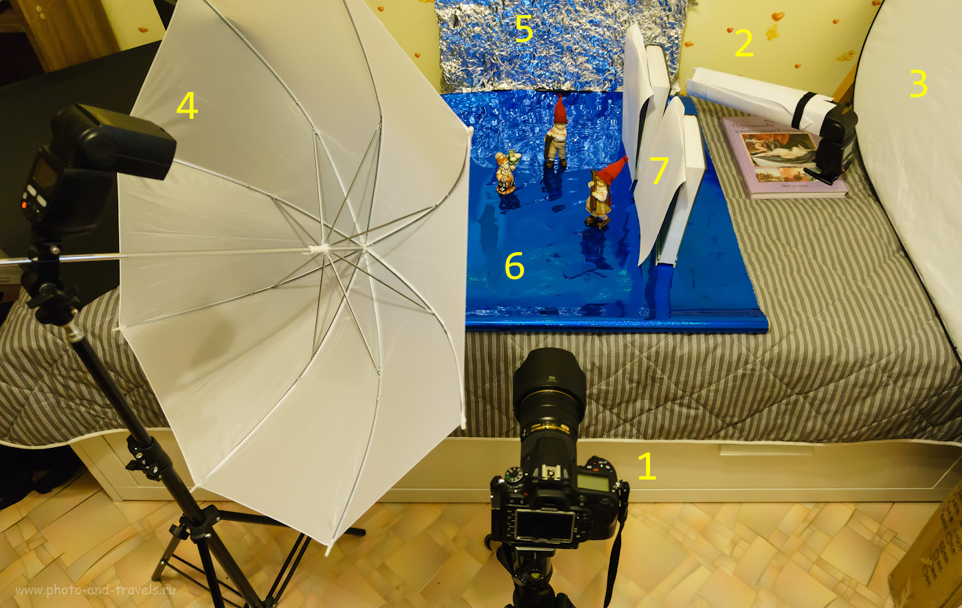 Фото 9. Студия для проверки качества картинки при съемке FX-тушкой и DX-объективом. Снято на Sony A6000 KIT 16-50mm f/3.5-5.6 с рук, без использования вспышки. 1/60, +0.7, 3.5, 2500, 16.