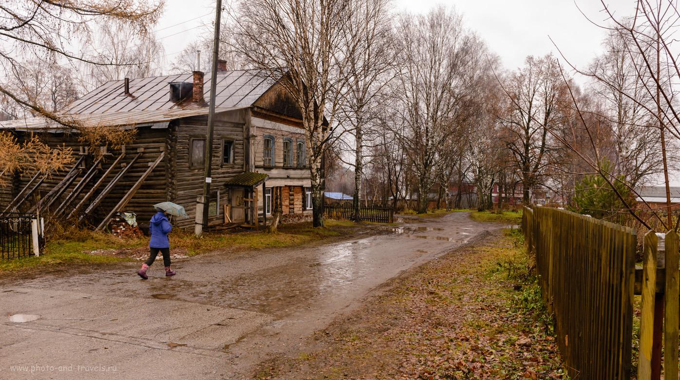 Фото 22. Здание рядом с краеведческим музеем в селе Калинино Кунгурского района. 1/60, -0.33, 9.0, 500, 27.