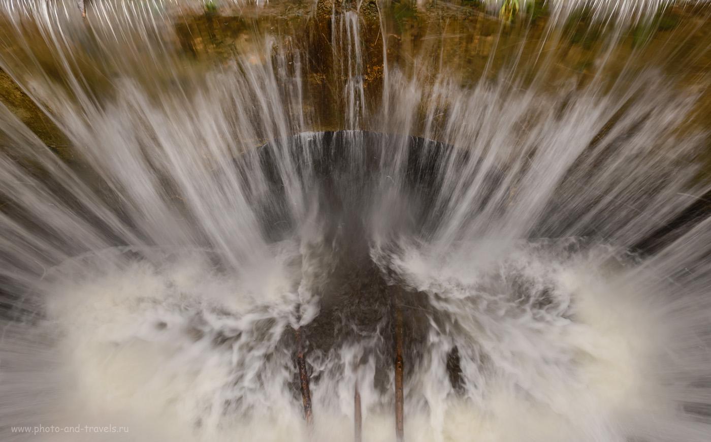 Фотография 43. «Адъ» на плотине пруда в селе Ашап. 1/8, 6.3, 250, 17.