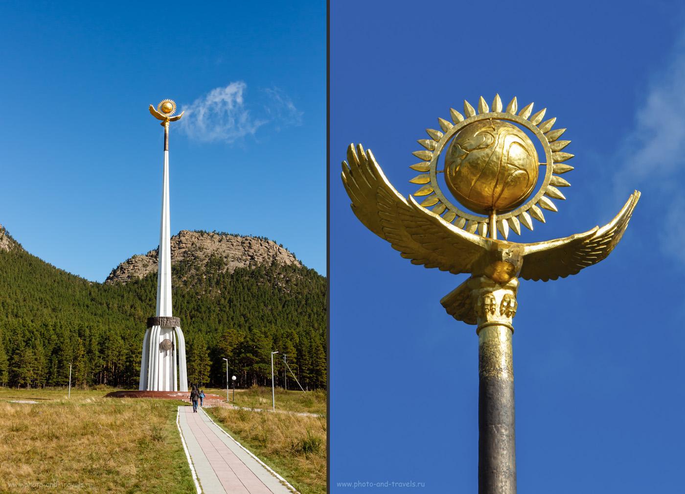 Фото 21. Стрела на поляне Абылай-хана в Бурабае. Достопримечательности, что можно посмотреть на отдыхе в Казахстане.
