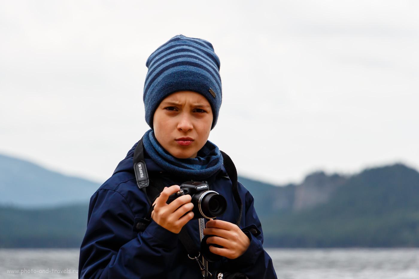 Фото 39. Начинающий фотограф на отдыхе в Казахстане. Прогулка по осеннему Бурабаю. 1/1000, +0.3, 5.6, 400, 135.