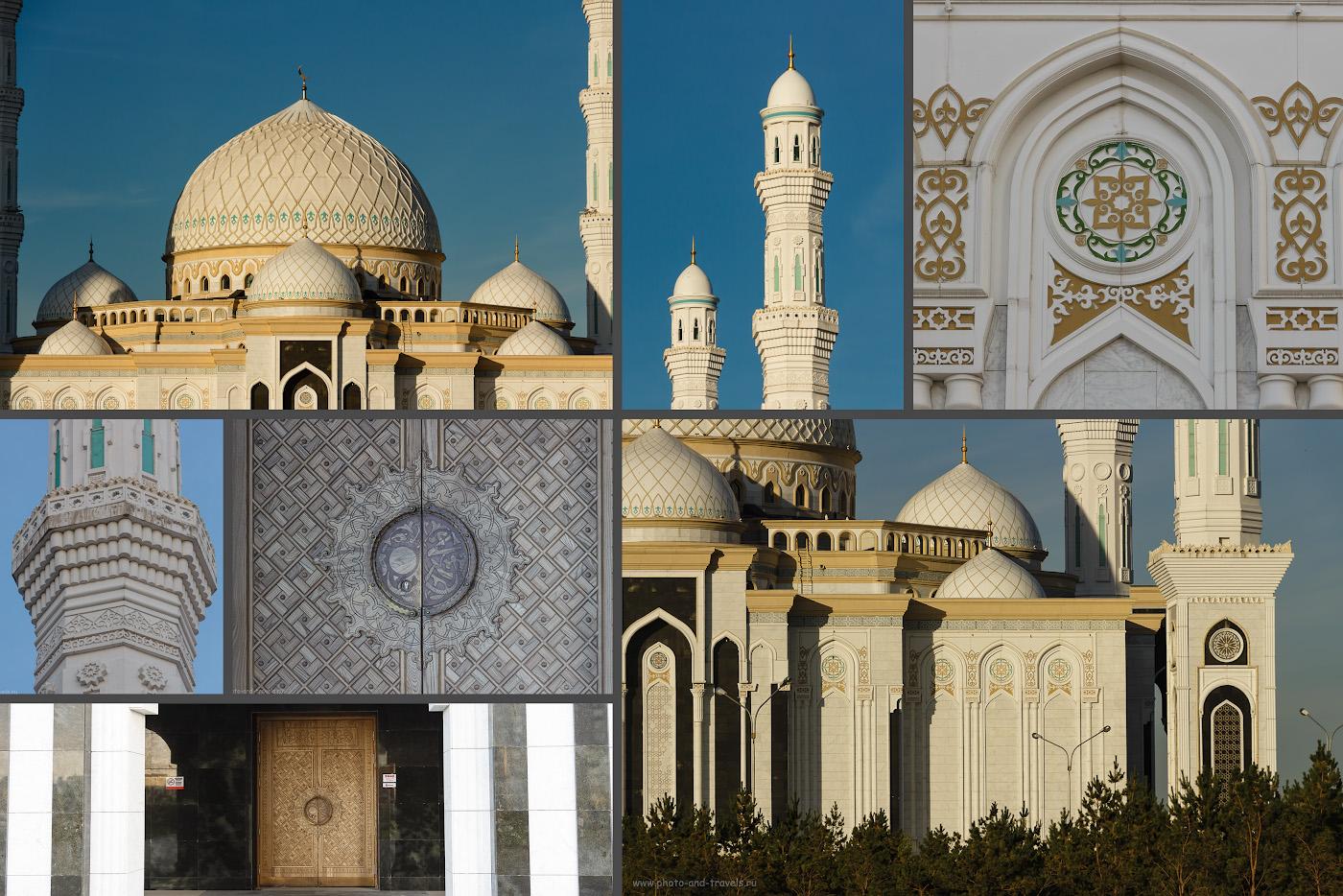 Фото 23. Самая красивая мечеть Астаны – мечеть «Хазрет Султан».