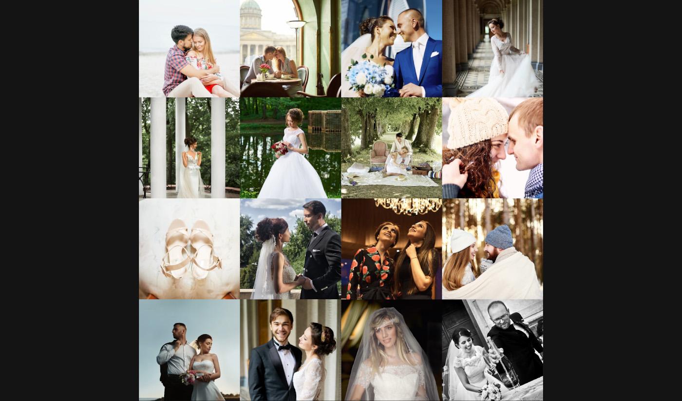 34. Примеры портретов, снятых свадебными фотографами на полтинник Nikon 50mm f/1.4G.