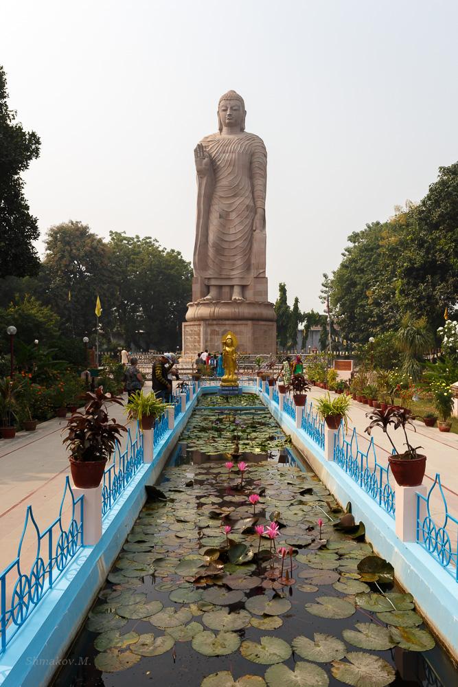 Фото 20. Статуя Будды. Что посмотреть в Варанаси. Отзывы туристов о путешествии по Индии самостоятельно (1/250; 0; 9; 100; 29).