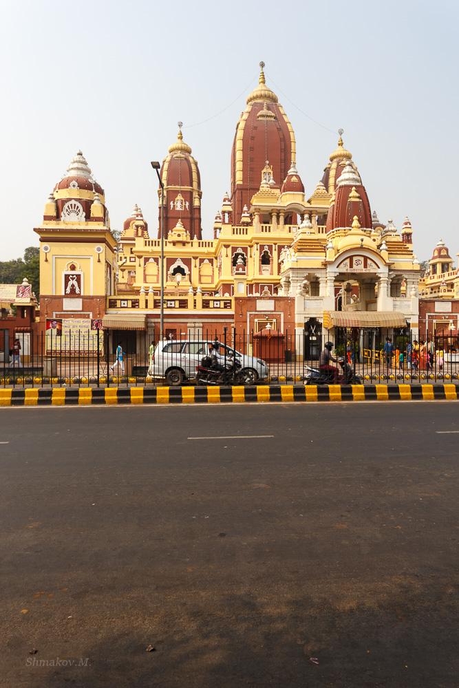 Фотография 7. Храм Лакшми Нараян (Sri Laxmi Narayan Mandir) в Дели. Отчеты туристов о путешествиях в Индию.