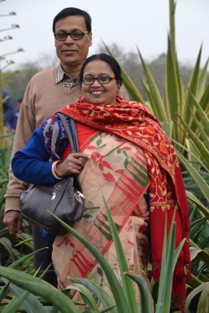Фото 11. Очень красивая пара, согласившаяся на фотоснимок. Как мы устроили фотосессию под стенами Кутб-Минара. Отзывы о самостоятельной поездке в Дели. 1/160, 6,3, 100, 85.