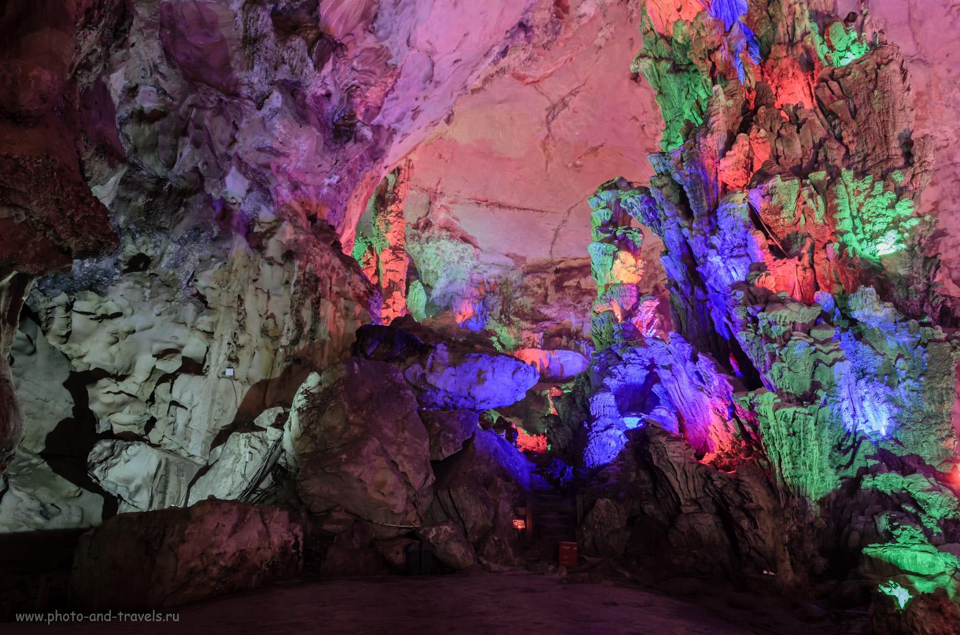 9. Сказка в пещере Guanyan. Самостоятельная поездка в Гуйлинь на Юго-Востоке Китая. 2.5, 8.0, 400, 17.