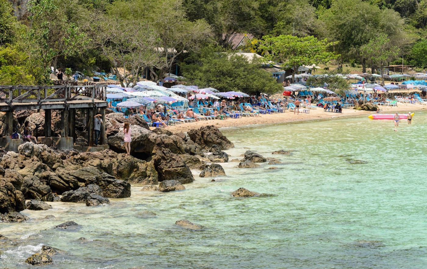 10. Пляж у пирса Tawaen на острове Ко Лан (Koh Larn). Стоит немного потрястись на пароме, чтобы добраться из Паттайи в такое райское место. 70-300mm, 1/500 сек, 0 eV, приоритет диафрагмы, f/4.5, 70 мм, 100