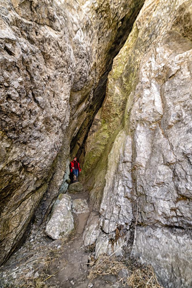 Фотография 26. Так выглядит Зотинская пещера в ближнем зале недалеко от входа. 1/50, -0.33, 4.0, 100, 14.