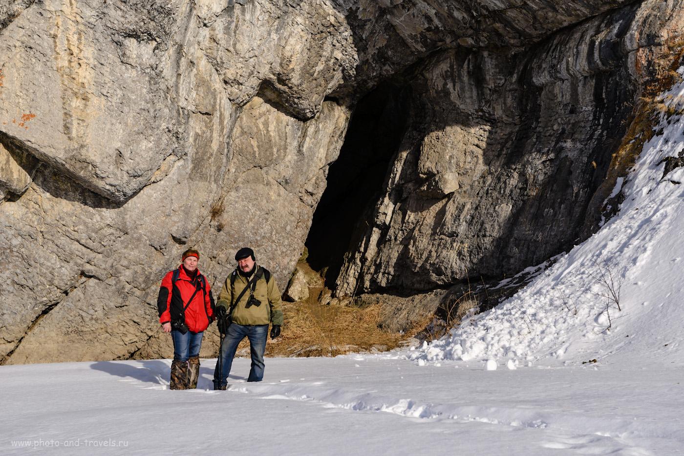 Фотография 34. Так выглядит вход в Зотинскую пещеру. 1/160, -0.33, 8.0, 100, 60.