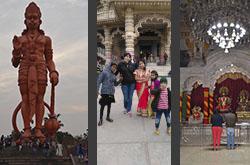 Vtoraia chast otzyva Natali CHto mozhno uvidet v Astane za poldnia Gde mozhno vkusno pokushat Ekskursii v znamenityi minaret Kutb-Minar i v maloizvestnyi no uiutnyi i priiatnyi khramovyi kompleks CHattarpur Mandir.