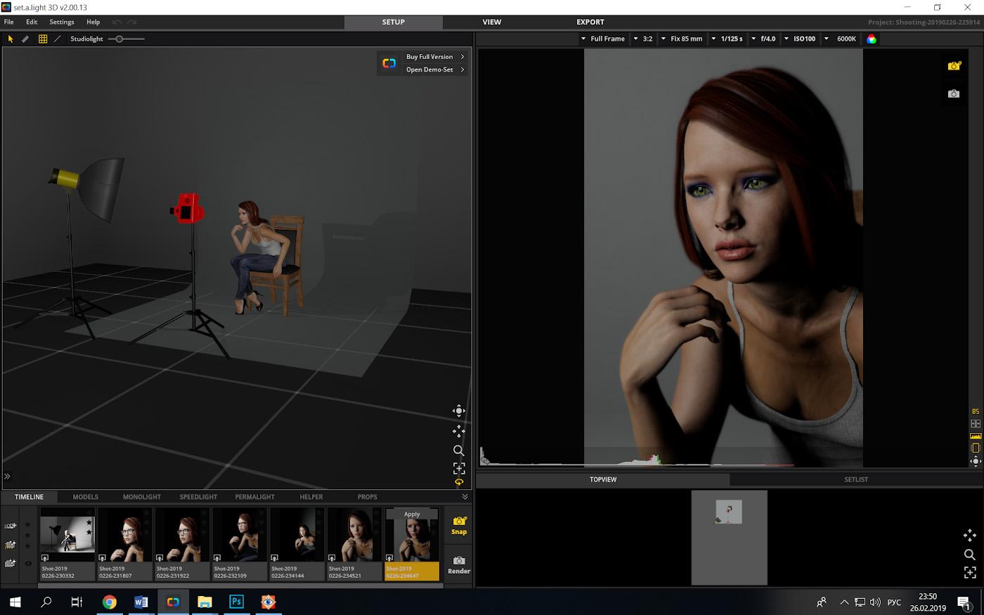 Фотография 29. Как снимать портрет с софтбоксом и вспышками Godox. Не следует подносить его слишком близко к модели.