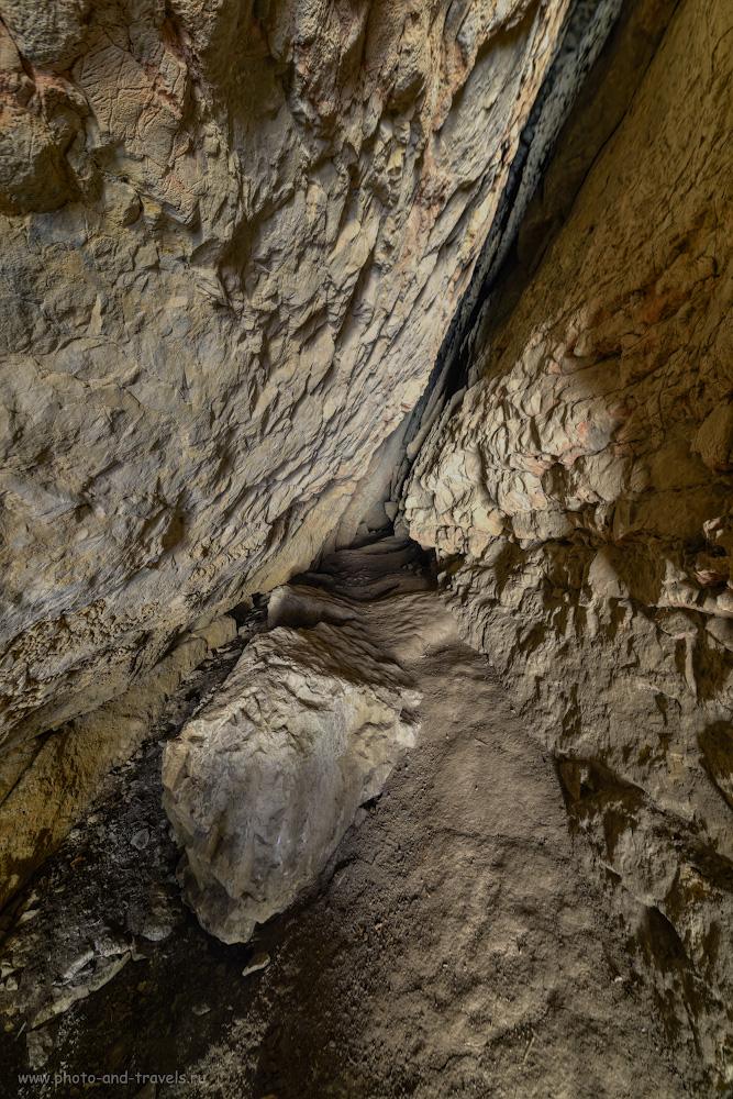 Фото 27. Грот Зотинской пещеры. HDR из трех кадров, снятых со штатива Sirui T-2204X на объекив Samyang 14mm f/2.8.