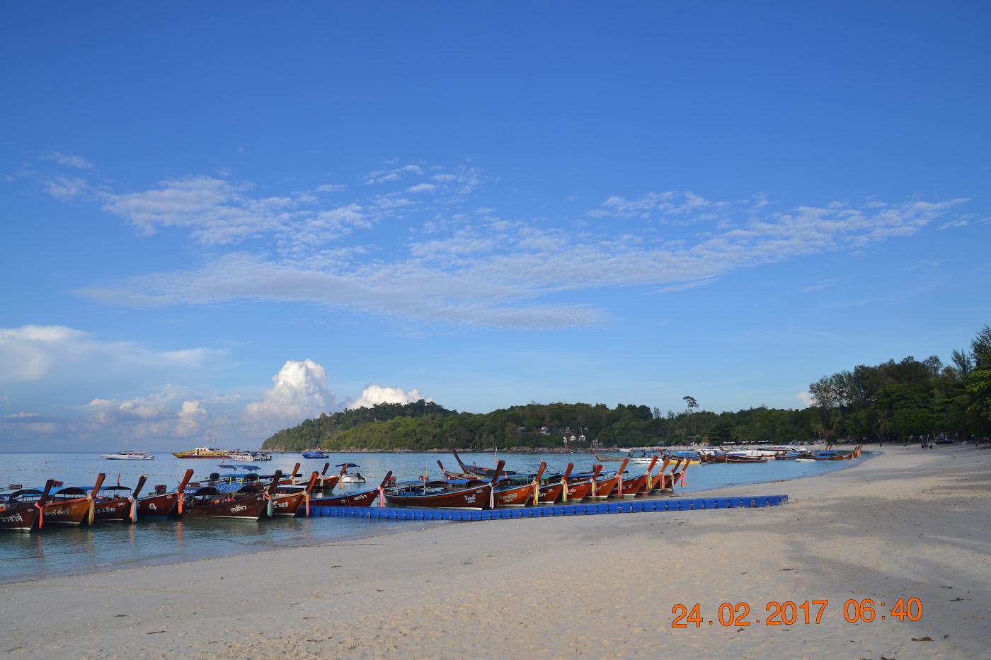 Фотография 9. Вид на пляж Паттайя на острове Ко Липе. Стоит ли ехать отдыхать в Таиланд самостоятельно? 1/400, 10.0, 100, 55.