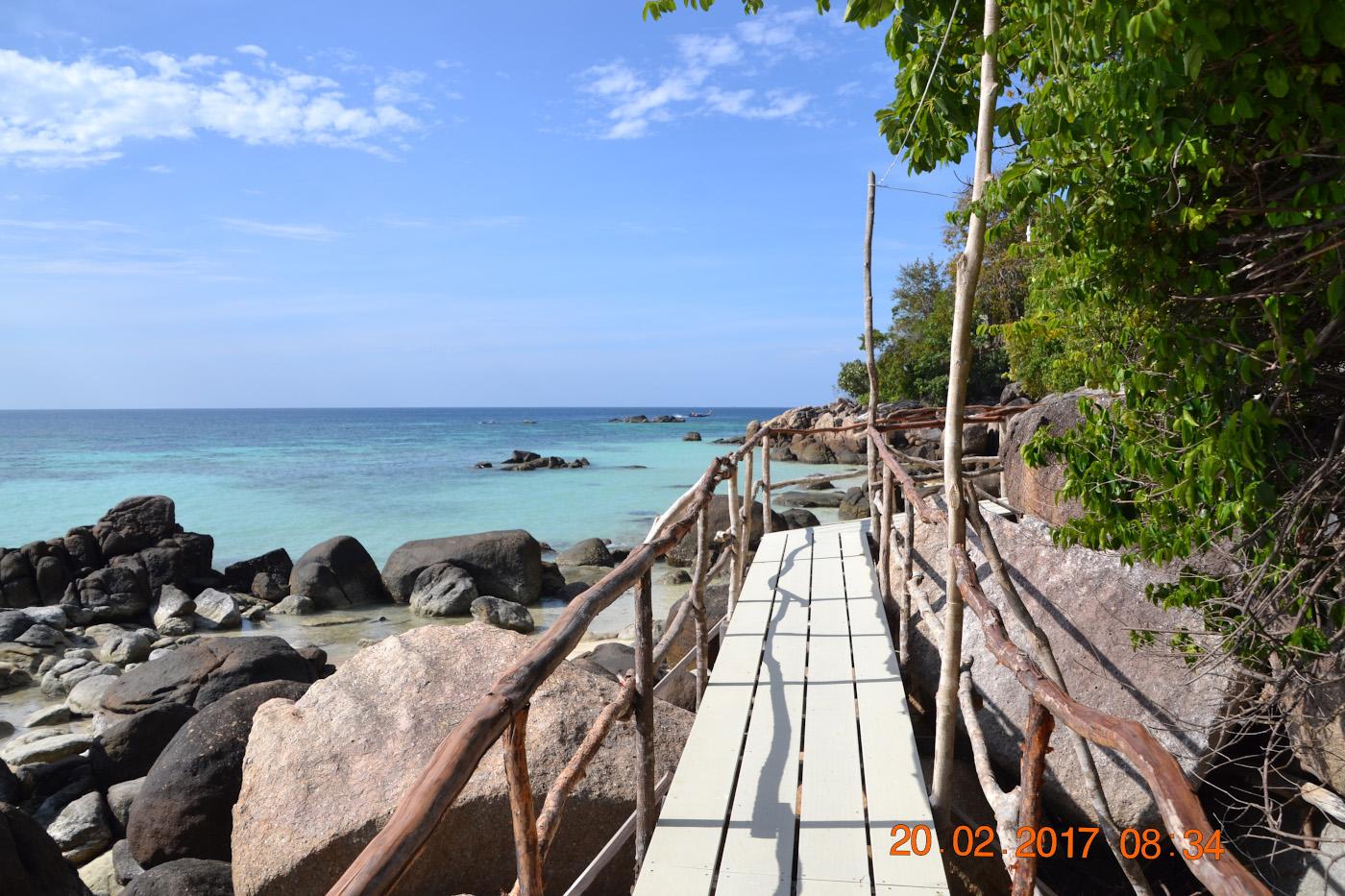 Фото 10. Дорога на пляж Саном на острове Ко Ланта. Советы туристам по отдыху в Таиланде самостоятельно. 1/400, 10.0, 100, 55.