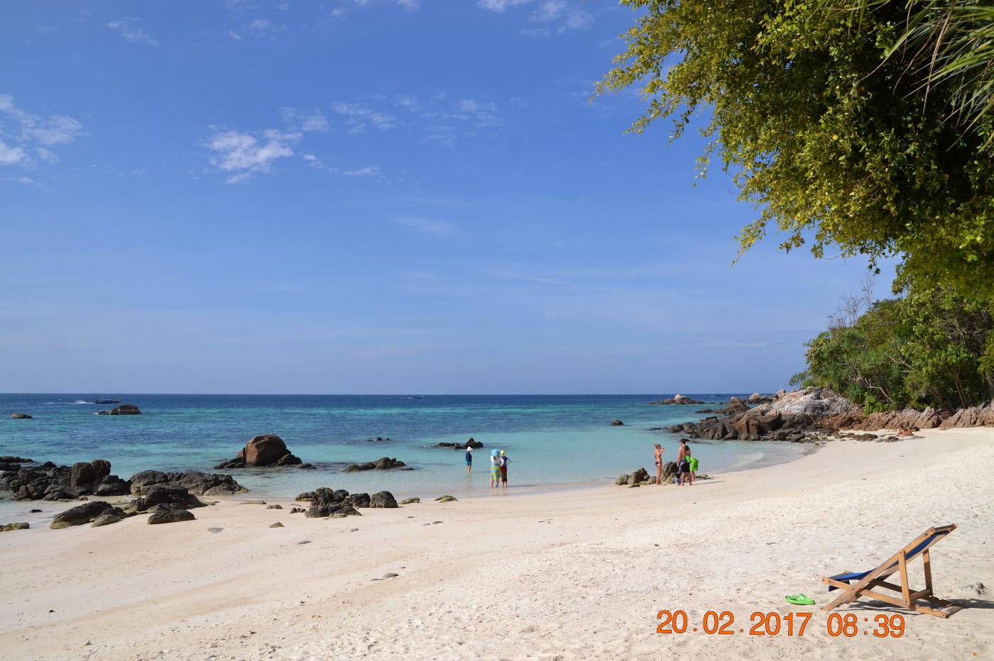 Фото 34. Пляж Саном на Ко Липе в Таиланде. 1/500, 11, 100, 55.