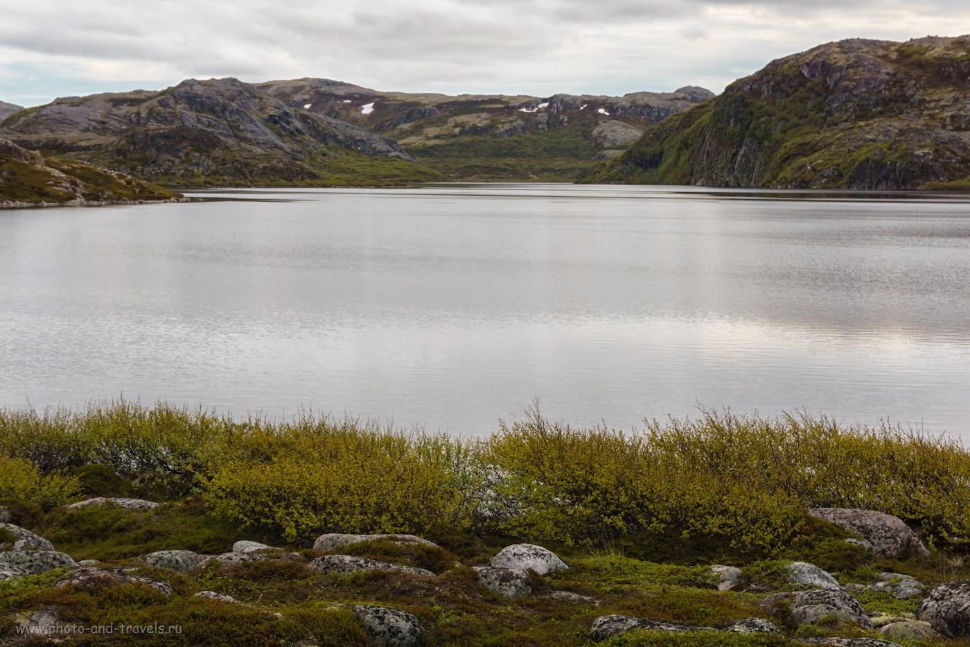 Фотография 28. Озеро Секретарское в окрестностях Териберки.