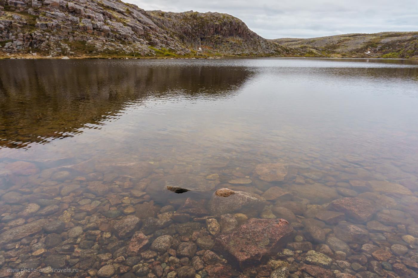 Фотография 38. Озеро малое Батарейское. Возможно, по правой стороне находится тропа к батарее береговой обороны №199.