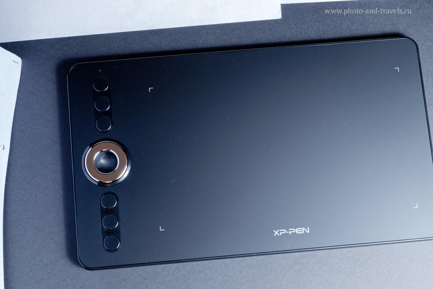 Фотография 14. Неприятности при фотосъемке графического планшета XP-PEN для обзора. 1/60, 7.1, 400, 45.