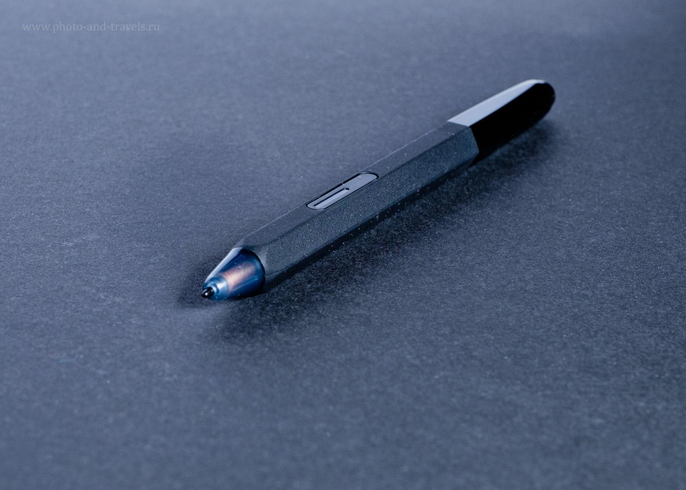 Фотография 5. Новейший стилус XP-PEN P06, идущий в комплекте с планшетом Deco 02, имеет одну кнопку (правая кнопка мыши) и цифровой ластик, совместимый с редактором «Фотошоп». 1/180, 10.0, 320, 55.