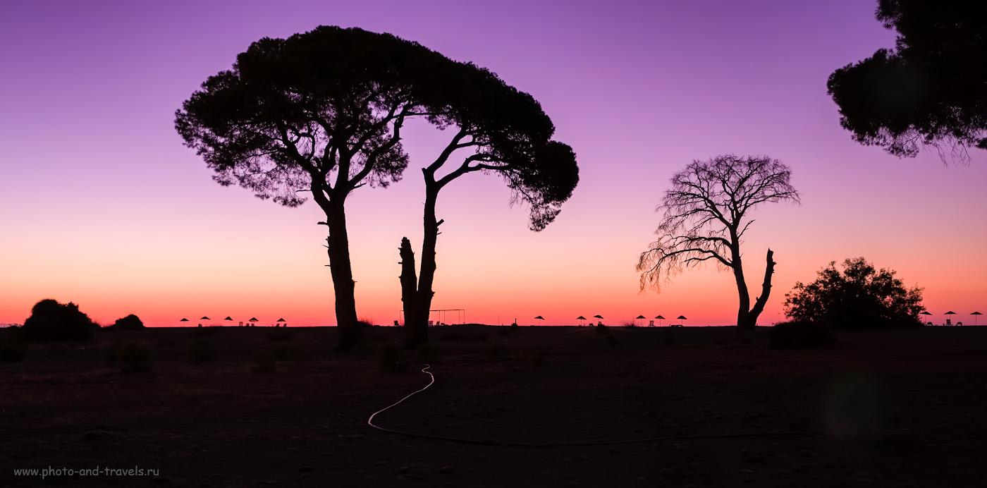 16. «Турецкая Намибия» в северной части пляжа Чиралы. Таким вышло одно мое волшебное утро. Снято с использованием штатива Sirui T-2204X. Настройки: 9.0, 2.8, +1.67, 24.
