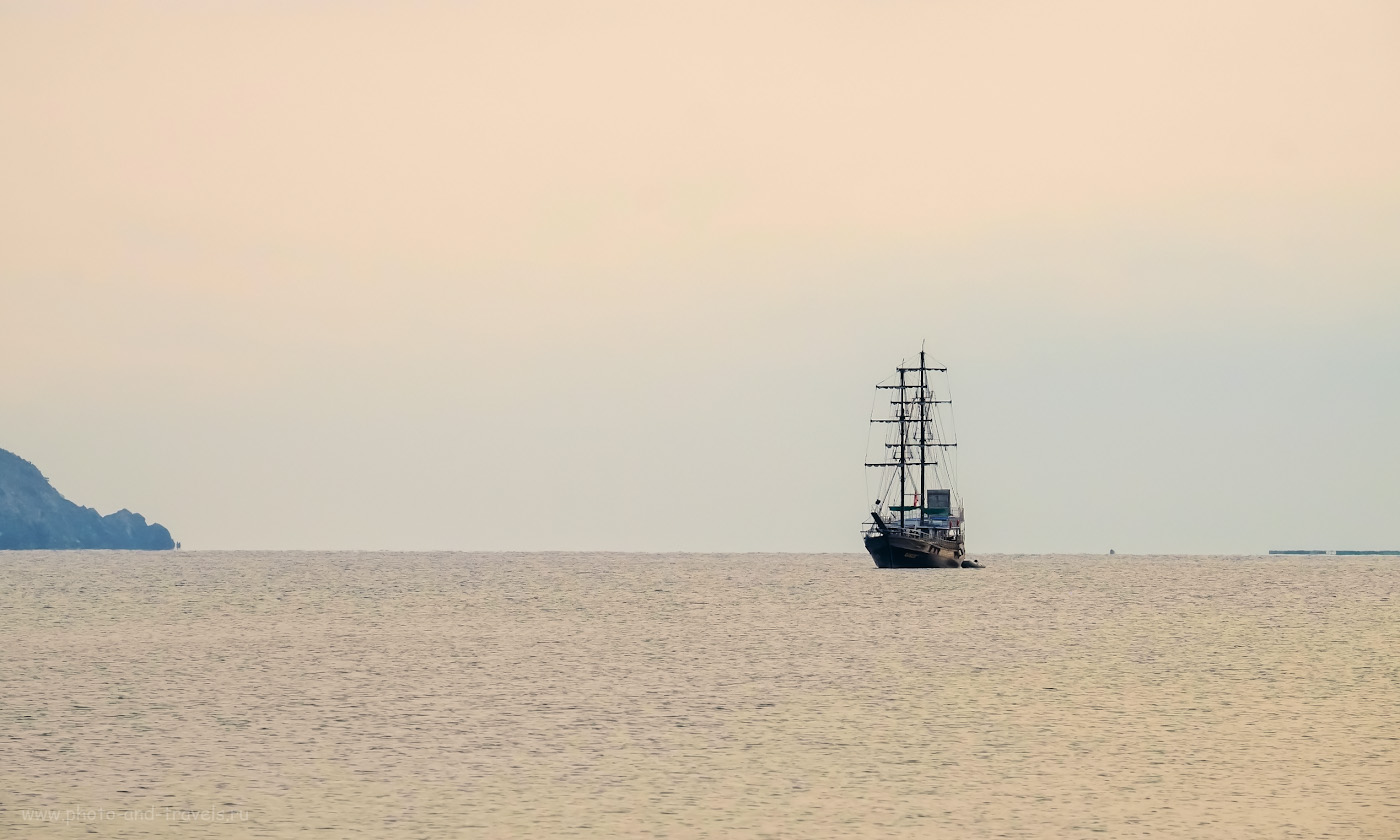 31. Возможно, пираты из города Олимпос видели такой вот пейзаж почти 2100 лет тому назад. 1/320, 9.0, 1600, +0.67, 200.