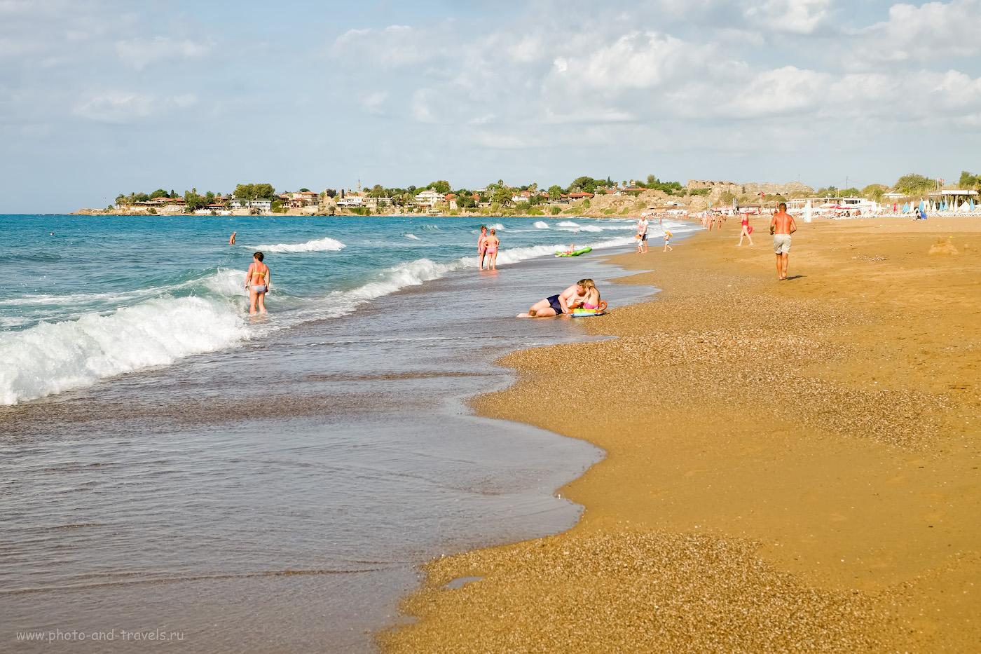 29. Так выглядит Восточный пляж в Сиде. 1/400, 8.0, 200, +0.67, 38.