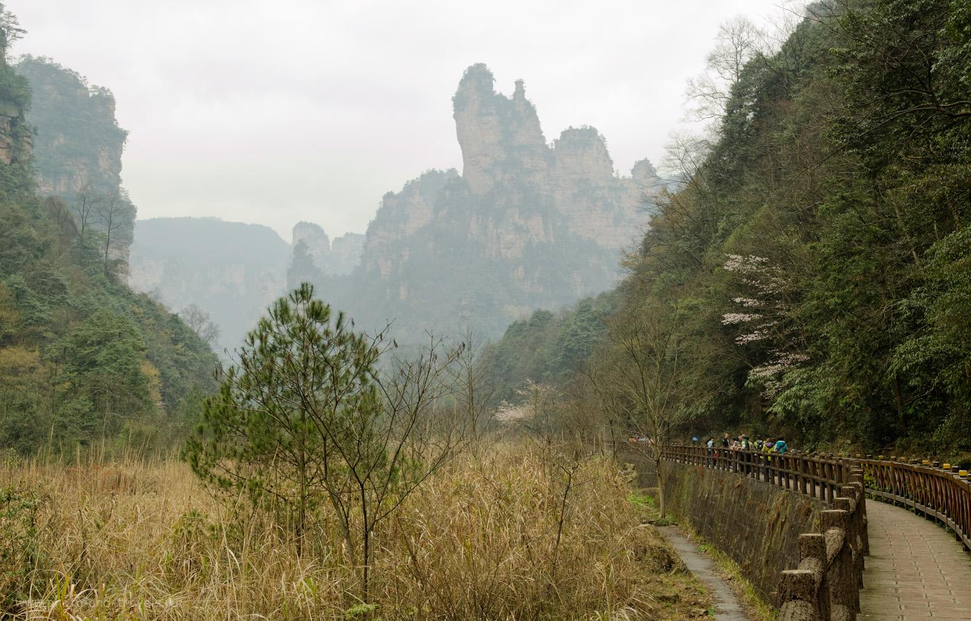 6. Будут эти пейзажи парка Чжанцзяцзе в Китае еще долго мне сниться. Отчет о прогулке из деревни Улинъюань самостоятельно.