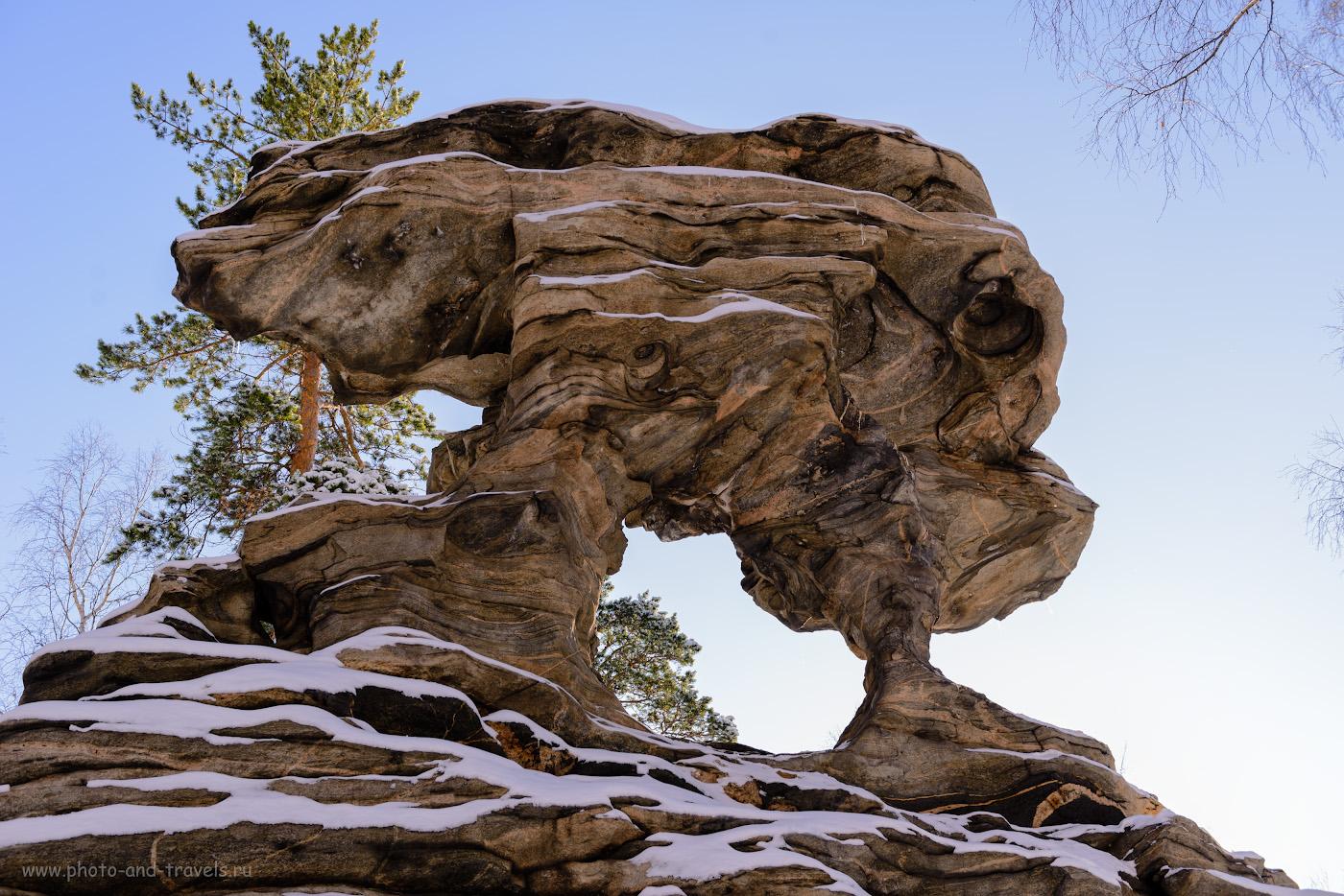 Фотография 17. Вид на скалу Крылья дракона.