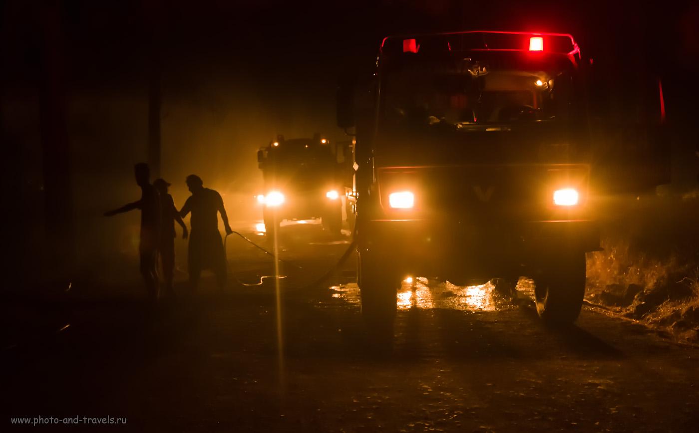 Фото 28. Опасно ли отдыхать в Турции? Как повезет. Лесной пожар – это не выдумка, не что-то далекое. Это - реальность. Любой турист может столкнуться с ней. 1/70, 2.8, 6400, +0.33, 30.