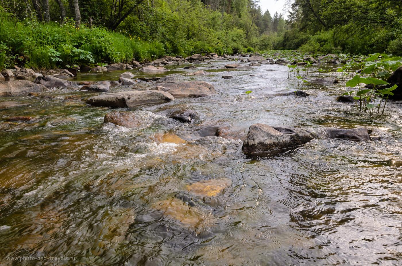 Фото 27. Горная река Нура. Какие красивые места можно посетить в Башкирии во время автомобильного путешествия по республике. 1/125, 10.0, 400, 17.