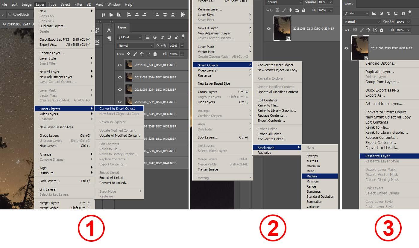 Фотография 28. Уменьшение шумов в «Adobe Photoshop» методом усреднения.