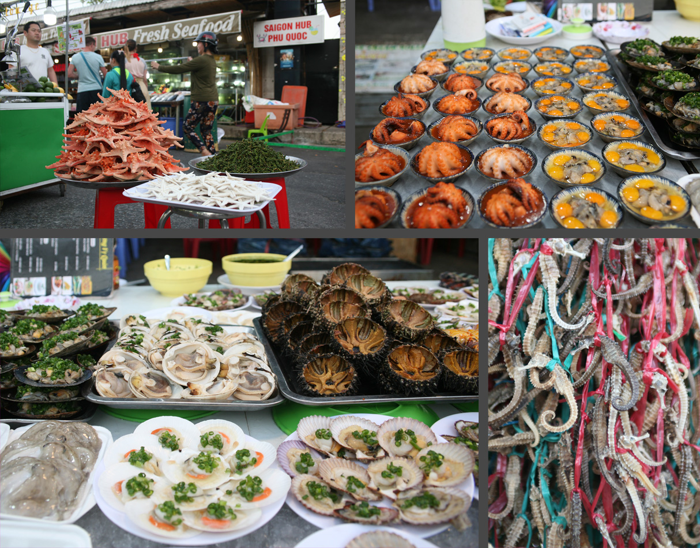 Фотография 35. На ночном рынке можно найти множество вкусняшек.