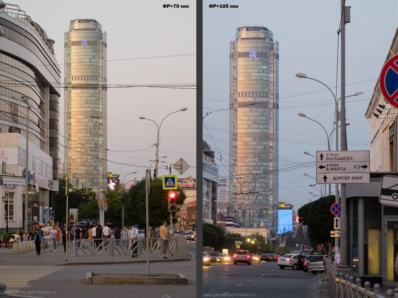 7. Для чего мне нужен телеобъектив? Для съемки архитектуры, чтобы показать масштабы высотных зданий. Тест Фуджи 50-200/3.5-4.8.