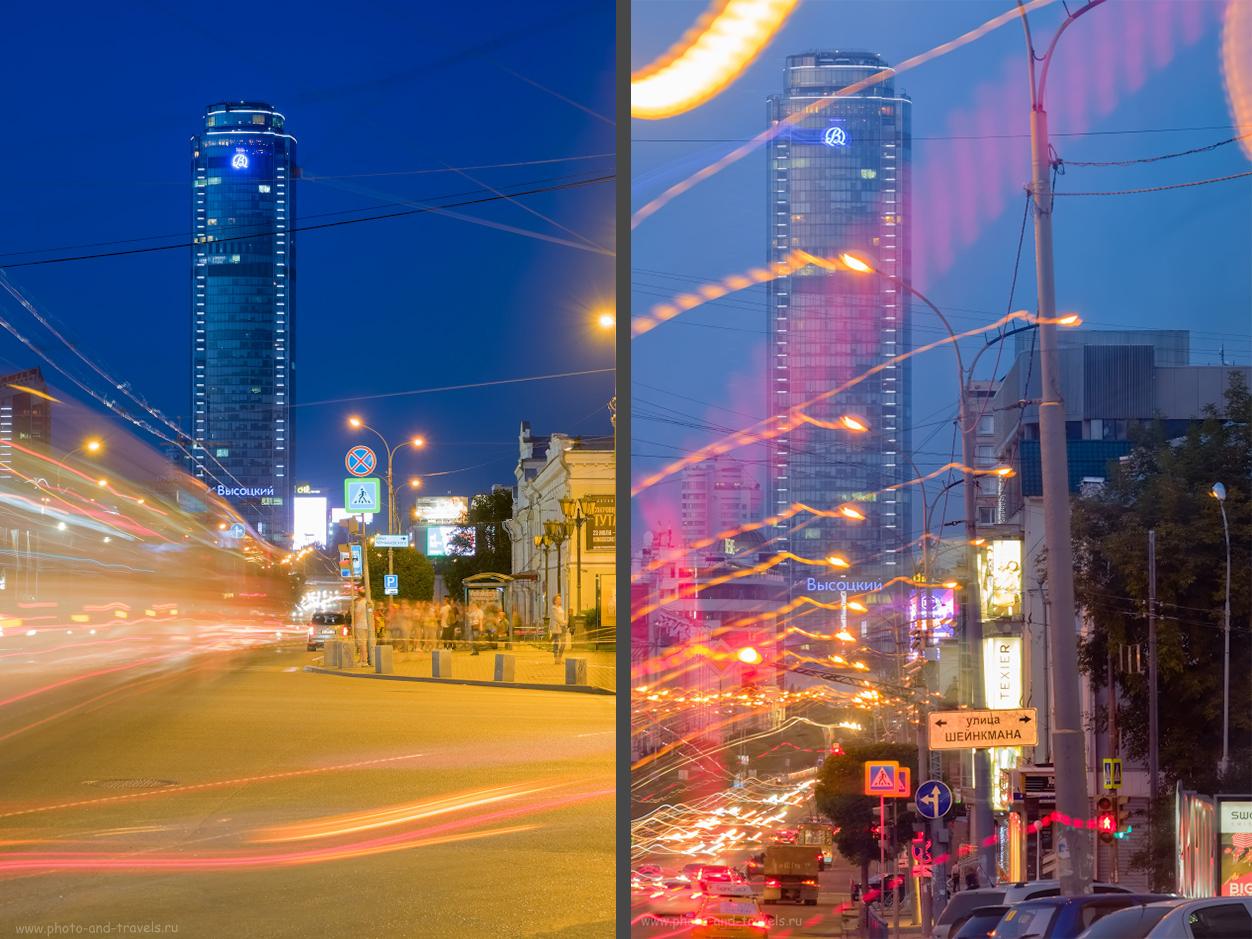 9. На какой объектив снимать архитектуру? На телеобъектив Fujinon 50-200mm f/3.5-4.8. Слева – ФР=55 мм, f/11, справа – 164 мм.