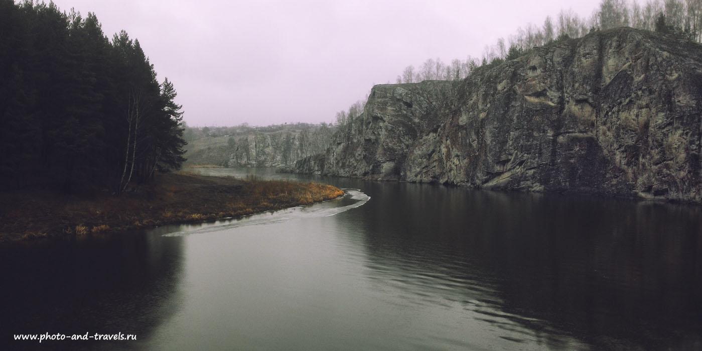 24. Однажды весной я вместо порога Ревун решил отправиться к скалам Исетский каньон. Снято на смартфон.