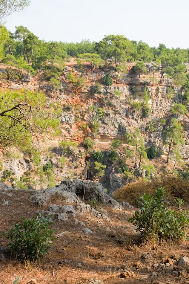 Фотография 18. Где в окрестностях Анталии можно устроить пикник? На стенах каньона Гювер Учуруму (Güver Uçurumu). 1/250, 10.0, 1250, -0.33, 34.