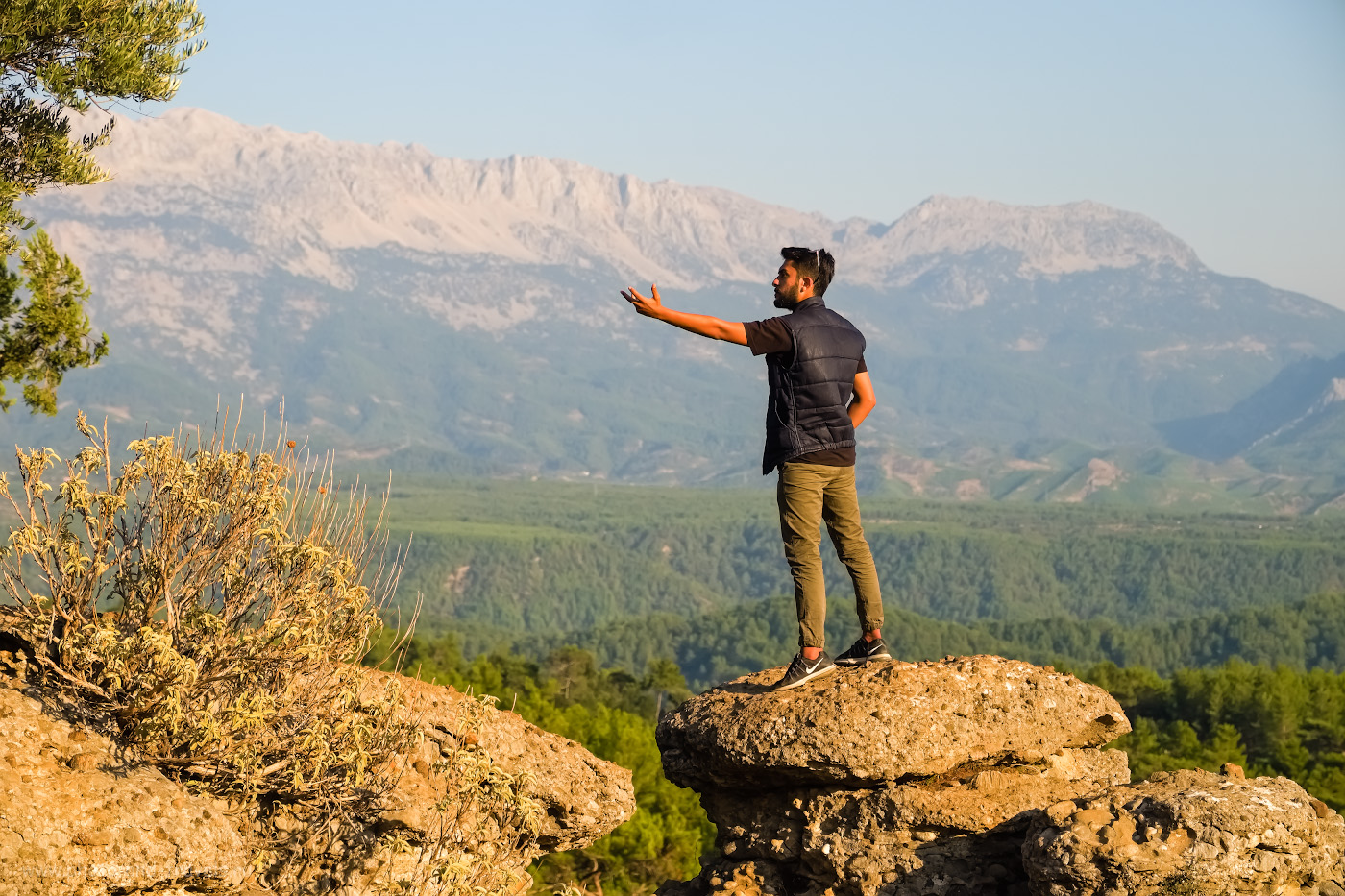 19. Фотограф в каньоне Tazi Kanyonu. 1/3200, 4.5, 200, -1.33, 55.