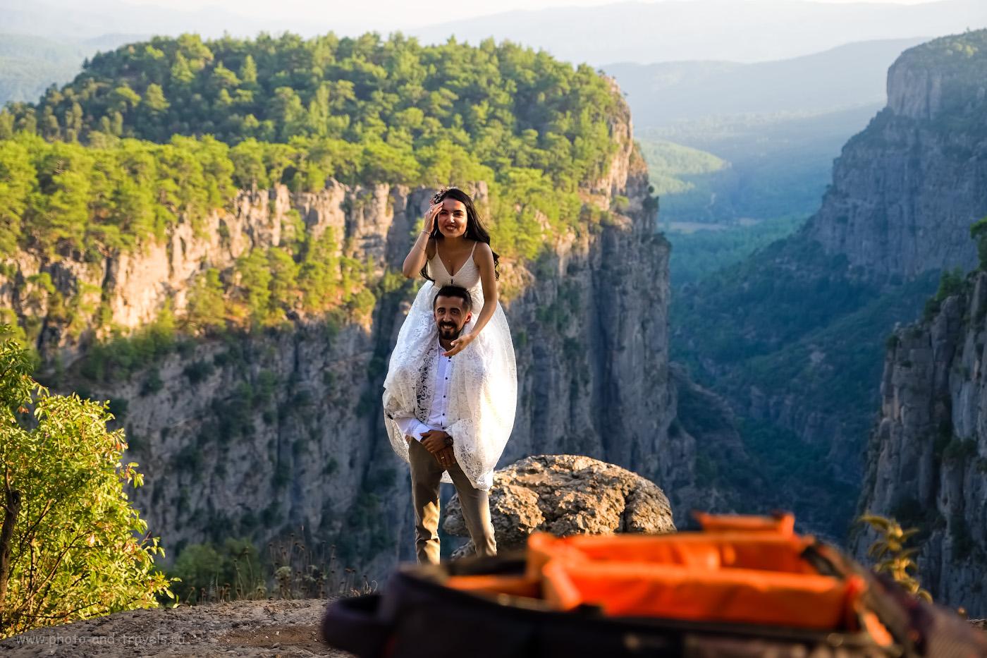 20. Свадебная фотосессия в Турции. Какое интересное место выбрать? 1/750, 2.8, 200, -0.67, 38.