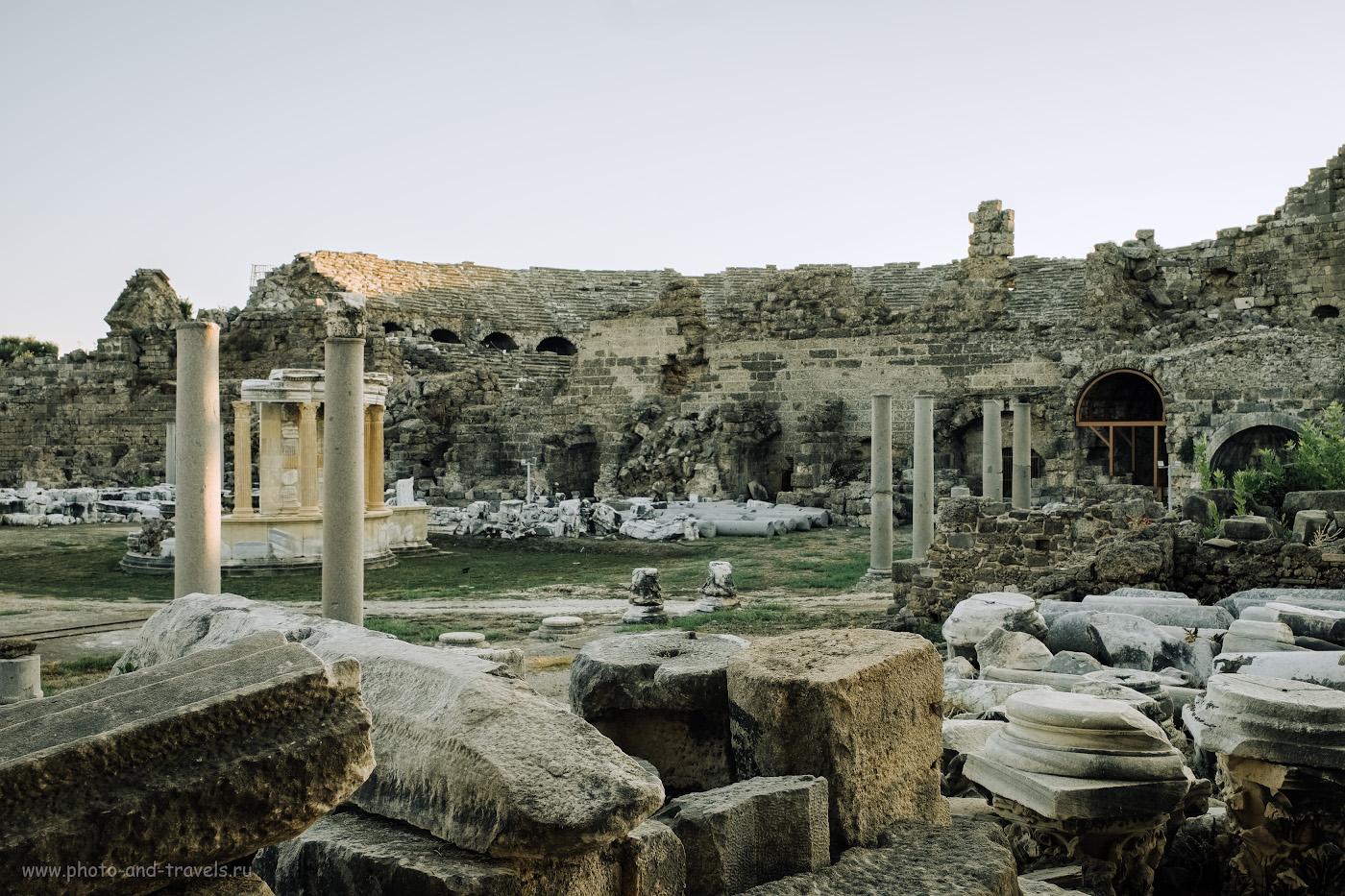 Фотография 10. Так выглядит старинный театр в Сиде. Какие интересные места посмотреть в Старом городе? 1/80, 8.0, 200, +0.33, 25.