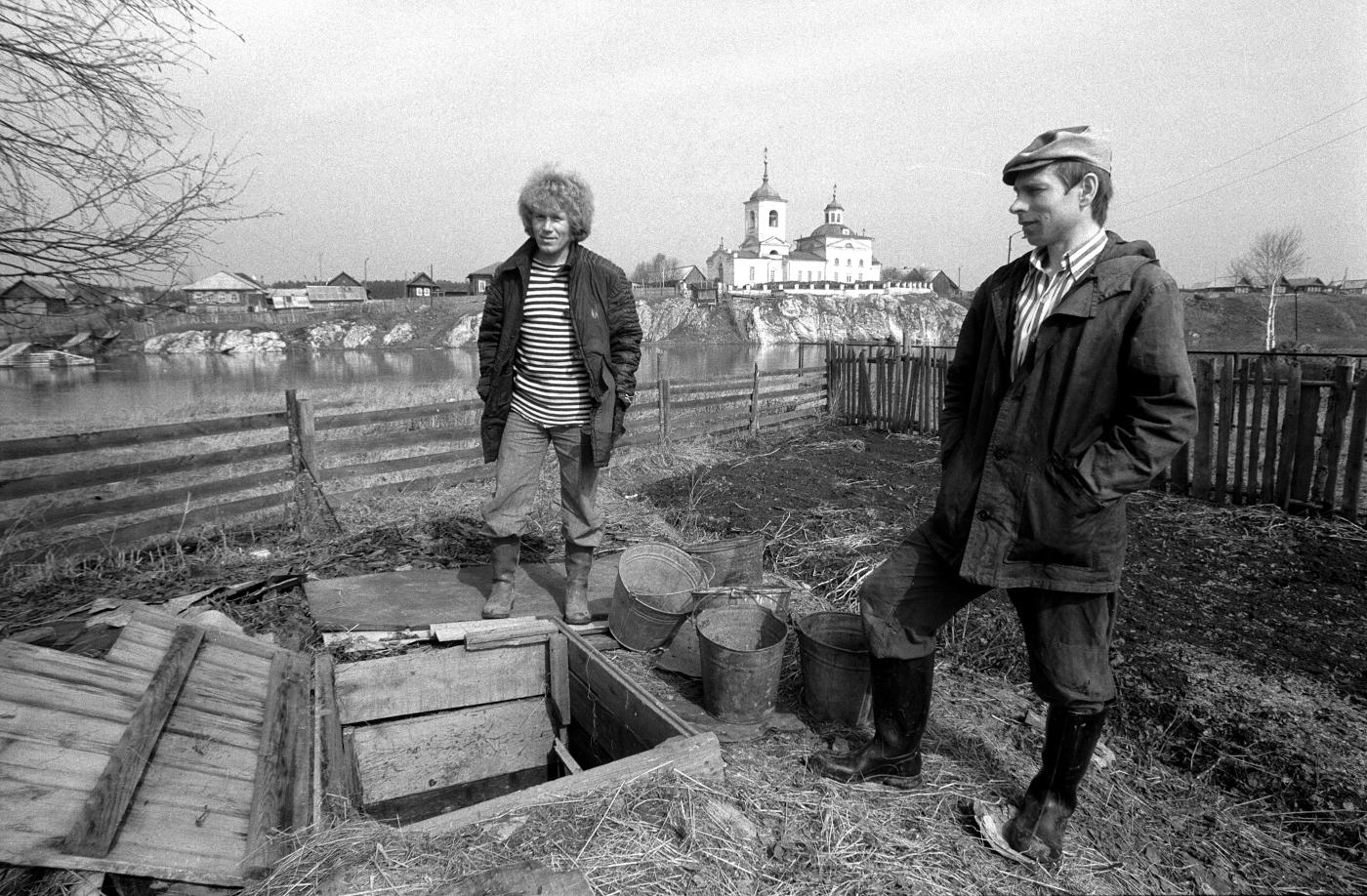 12. Зарисовки сельской жизни. Старые фотографии села Слобода.