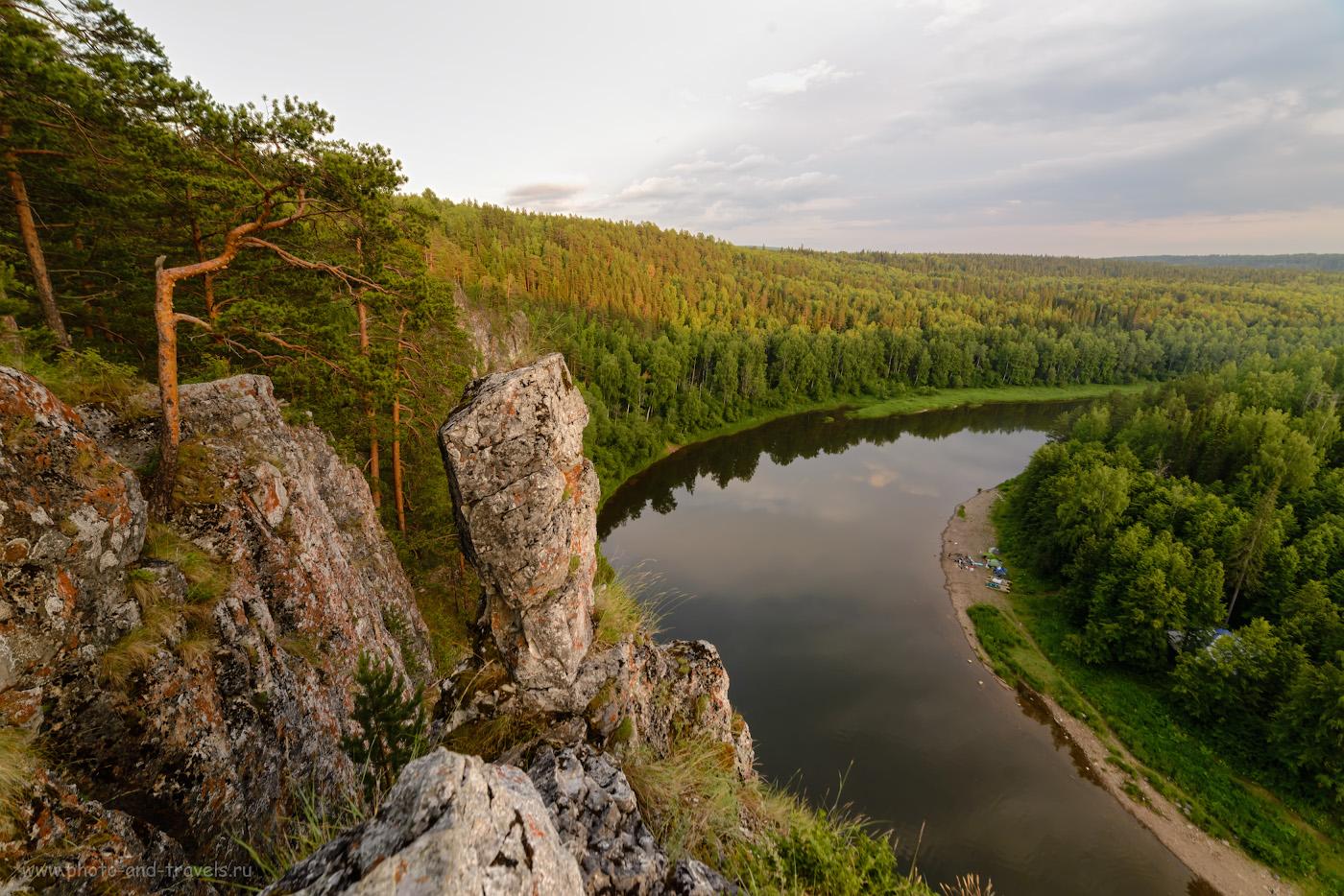 Фотография 15. Пейзаж, открывающийся с вершины бойца Омутной камень. 1/30, 9.0, 160, -0.33, 14.