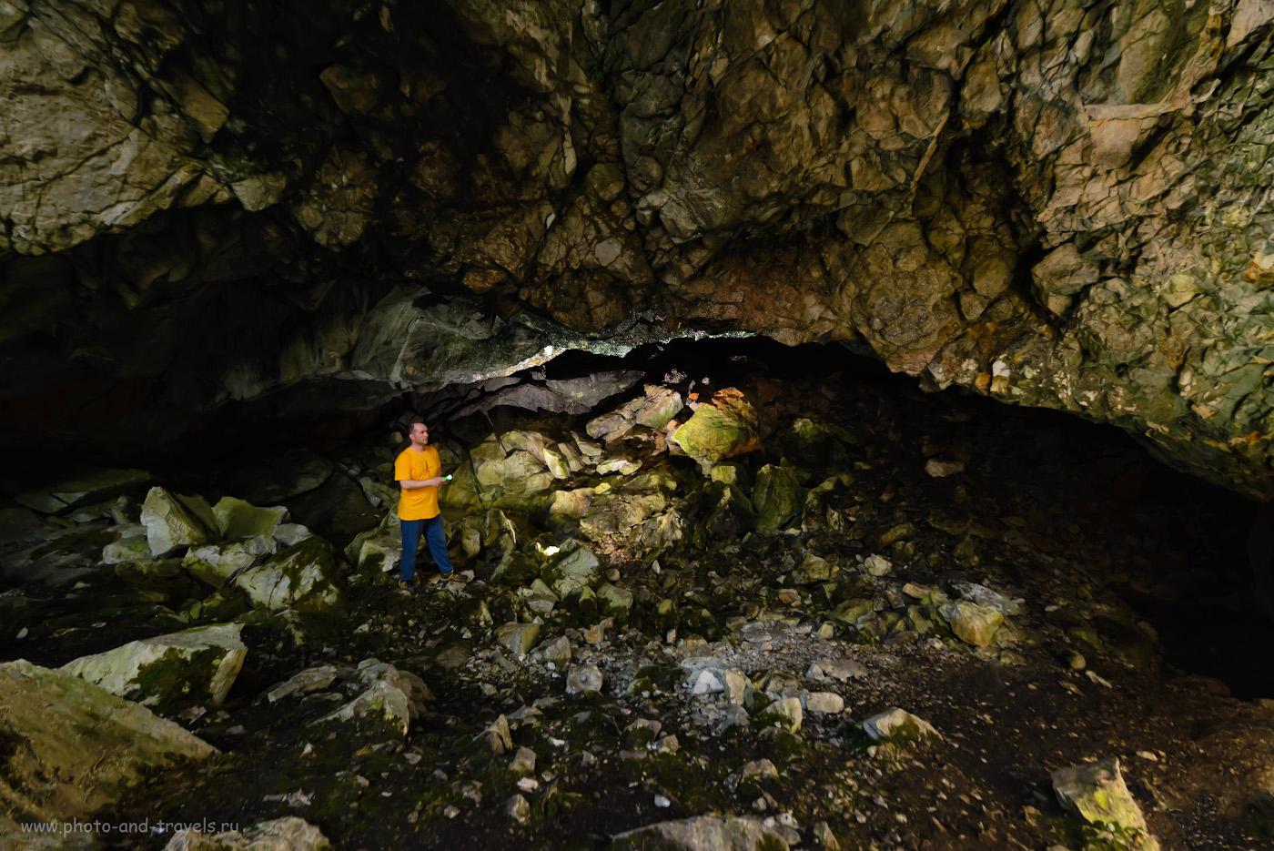 26. Мой опыт фотосъемки в пещере около села Аракаево. 1/40, 5.6, 1250, -1.0, 14.