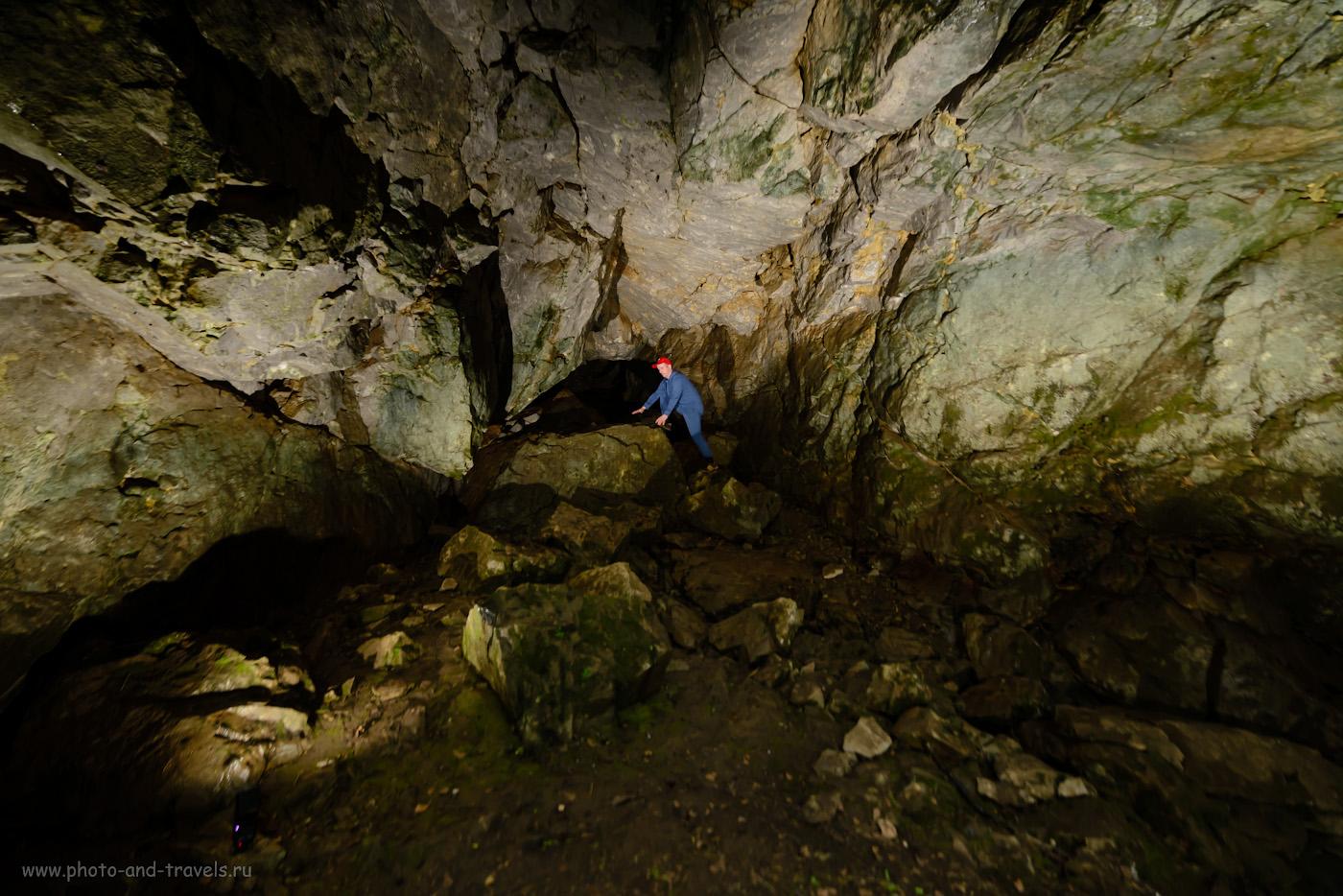 Фото 20. Грот пещеры Мшистая в «Долине Аракаевских пещер». Отзывы туристов, советы как добраться. 1/30, 2.8, 800, -0.67, 14.